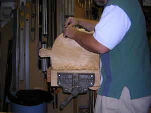 shaping seat with spokeshave